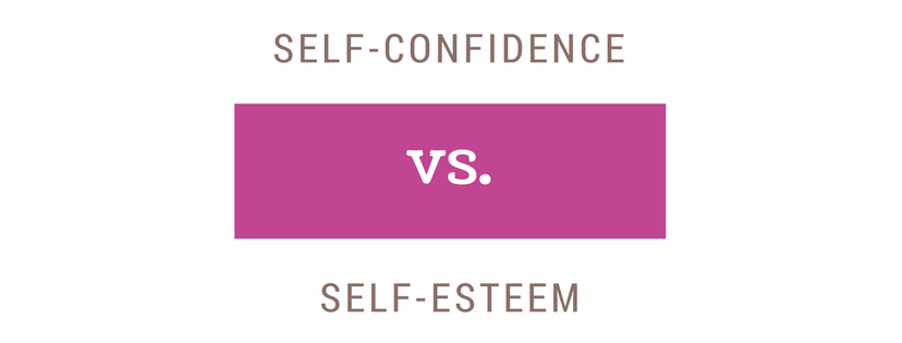 Self-esteem vs Self-confidence